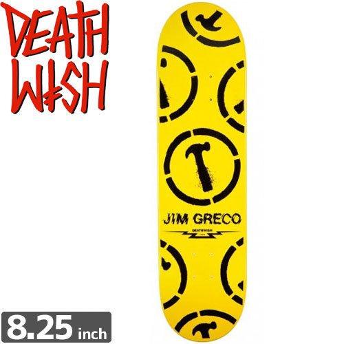 【デスウィッシュ DEATH WISH スケボー デッキ】GRECO HAMMERS ICON DECK[8.25インチ]NO32
