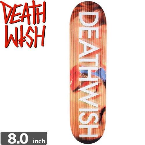 【デスウィッシュ DEATH WISH スケボー デッキ】DEATHWISH KISS DECK[8.0インチ]NO36