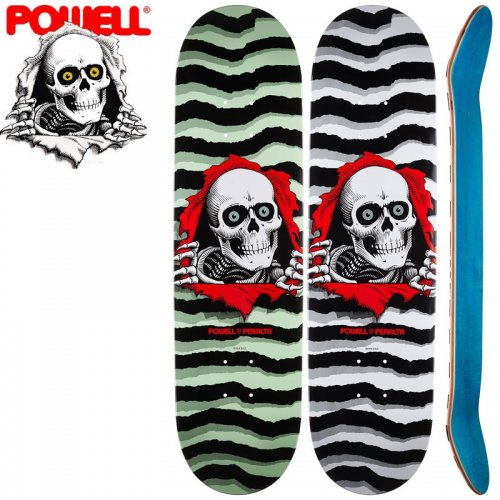 【パウエル POWELL スケボーデッキ】RIPPER POPSICLE PASTEL DECK【8.0】【8.25】NO20