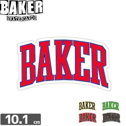 【ベーカー BAKER SKATEBOARD スケボー ステッカー】LAKELAND【5色】【5.7cm×10.1cm】No19