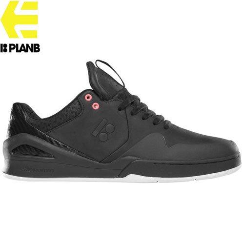 【エトニーズ ETNIES スケート シューズ】MARANA E-LITE x PLAN B レザー高耐久モデル【ブラック】NO95