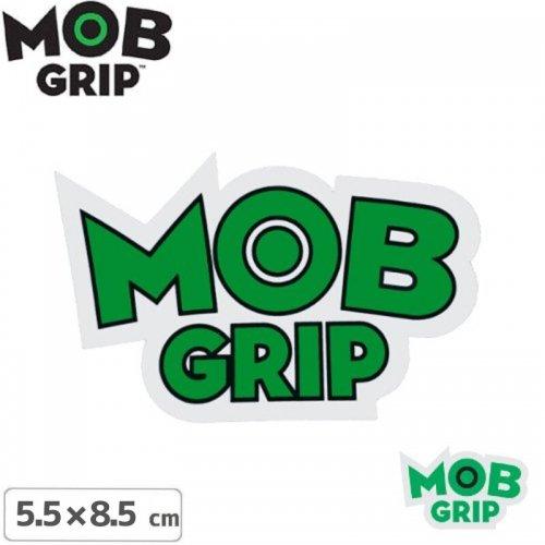 【MOB GRIP モブグリップ sticker ステッカー】LOGO【2色】【5.5cm×8.5cm】NO03