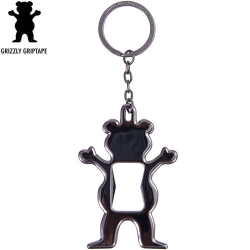 【グリズリー GRIZZLY アクセサリー】Bear Bottle Opener【7.5cm×5cm】NO06
