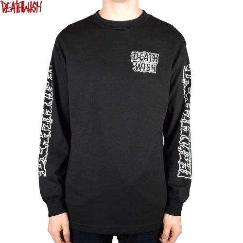 【デスウィッシュ DEATHWISH スケボー ロングTシャツ】SLIME TIME L/S TEE 長袖【ブラック】NO2