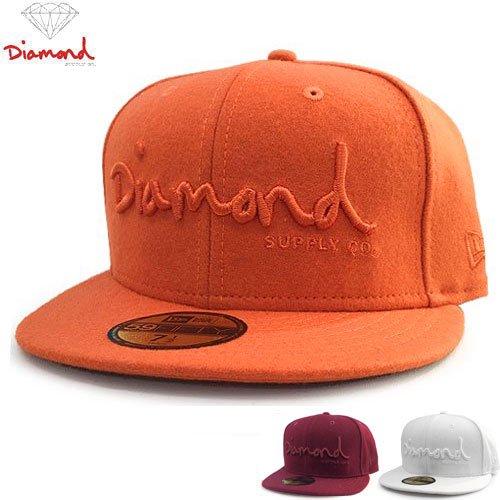 【DIAMOND SUPPLY ダイアモンドサプライ キャップ】NEW ERA OG SCRIPT FITTED HAT【3COLOR】NO70