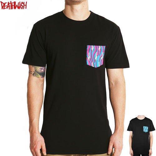 【デスウィッシュ DEATHWISH スケボーTシャツ】GANG LOGO POCKET TEE【2カラー】NO41