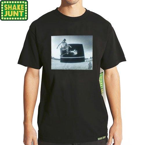 【シェイクジャント SHAKE JUNT Tシャツ】PICTURE TEE【ブラック】NO23