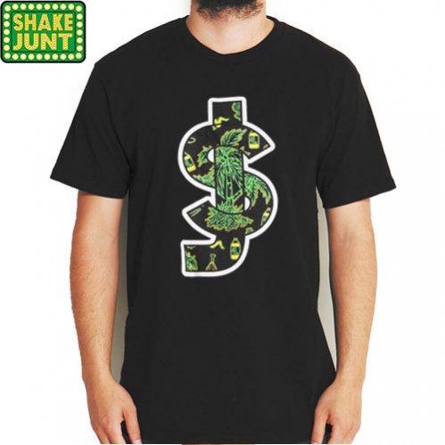 【シェイクジャント SHAKE JUNT Tシャツ】SJ BOLD TEE【ブラック】NO24