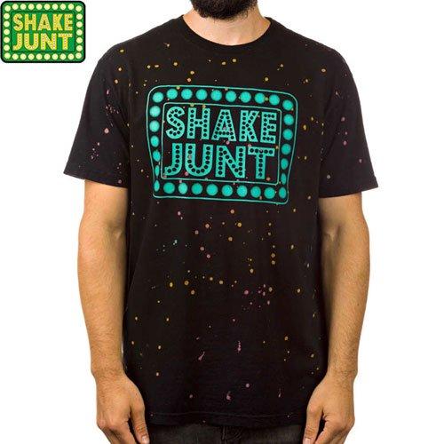 SALE!【シェイクジャント SHAKE JUNT Tシャツ】BOX LOGO TEE【ブラック】NO25