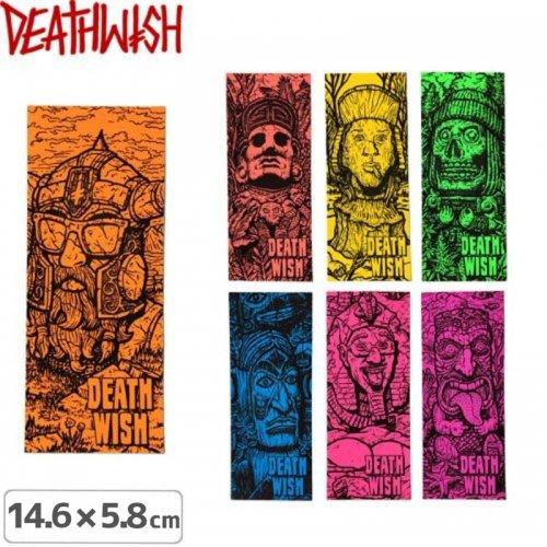 【デスウィッシュ DEATHWISH ステッカー】RUIN【7色】【14.6cm×5.8cm】NO123