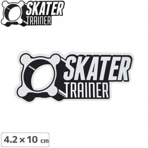 【スケータートレーナー SKATER TRAINER スケボー sticker ステッカー】Logo【10m×4.2cm】NO01