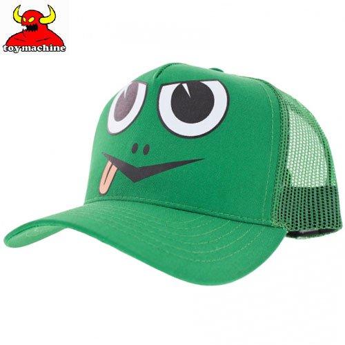 【TOY MACHINE トイマシーン スケボー キャップ】ANGRY TURTLE MESH SNAPBACK HAT【グリーン】NO39
