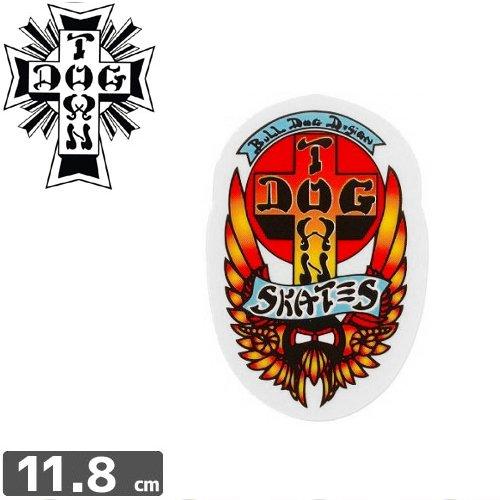 【ドッグタウン Dog Town スケボー sticker ステッカー】Bull Dog【11.8cm×6.9cm】NO06