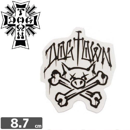 【ドッグタウン Dog Town スケボー sticker ステッカー】Pig Bones【8.7cm×7.5cm】NO09
