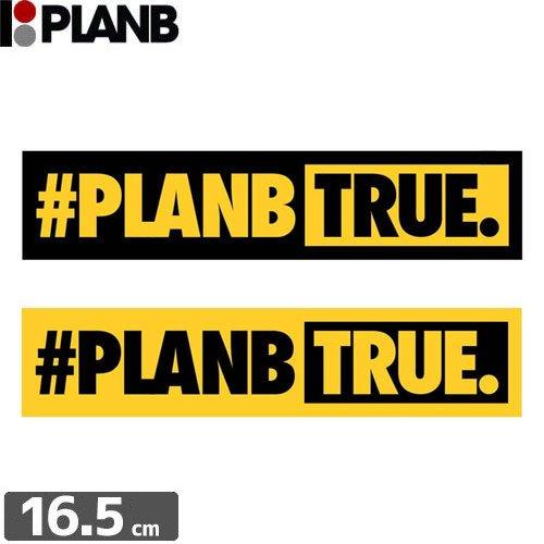 【プランビー PLAN-B スケボー STICKER ステッカー】HASHTAG BUMPER【3.6cm×16.5cm】NO02