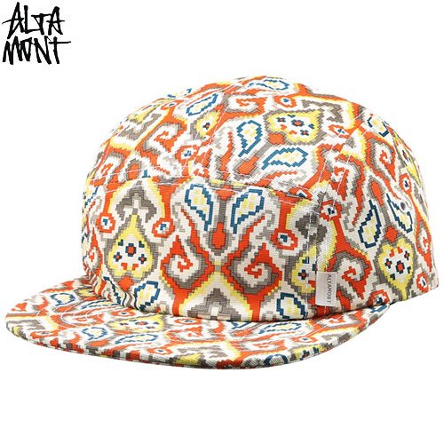 【オルタモント ALTAMONT スケボー キャップ】CULTUS CAMP HAT【CLAY】NO22