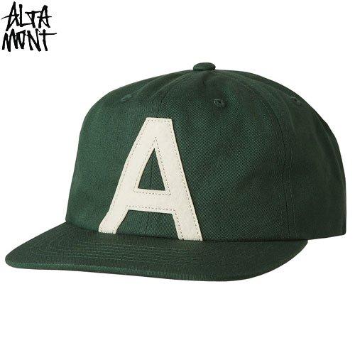 【オルタモント ALTAMONT スケボー キャップ】BOHR BALL SNAPBACK HAT【グリーン】NO24