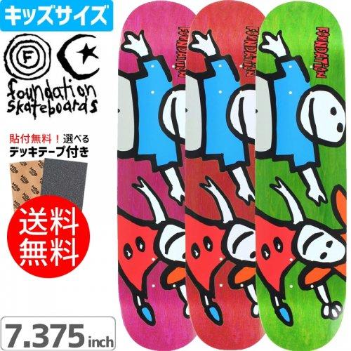 【ファンデーション FOUNDATION キッズデッキ】WHIPPER SNAPPER MINI DECK【3カラー】【7.375 x 29.7】NO1