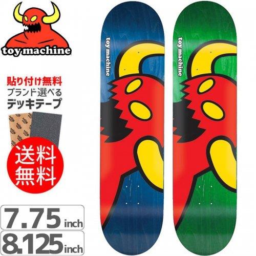 【トイマシーン TOY MACHINE デッキ】VICE MONSTER DECK[7.75インチ][8.125インチ]NO140