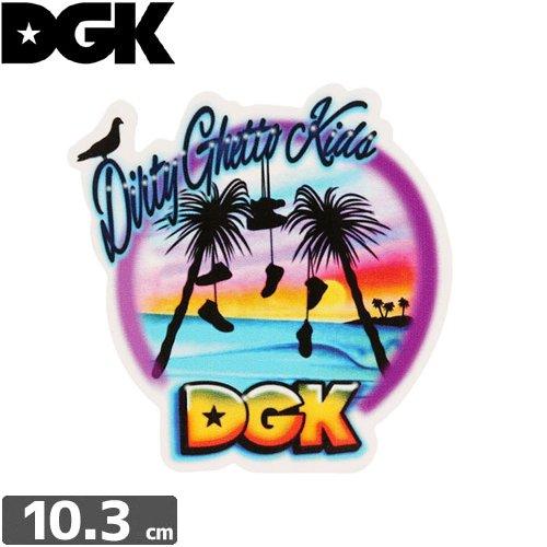 【ディージーケー DGK スケボー ステッカー】Venice【10cm×10cm】No.82