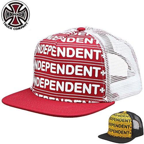 1週間限定セール!【INDEPENDENT インディペンデント キャップ】AXLE BAR TRUCKER HAT【2COLOR】NO42