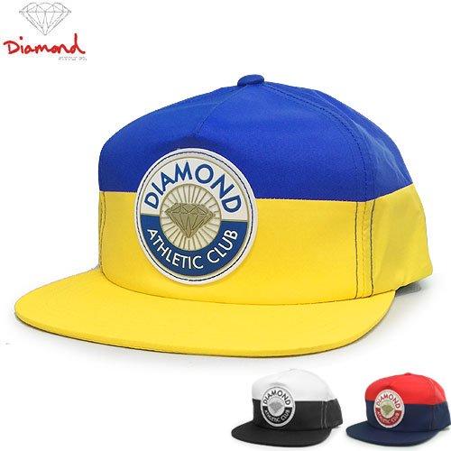 【DIAMOND SUPPLY ダイアモンドサプライ キャップ】ATHLETIC CLUB SNAPBACK HAT【3COLOR】NO76