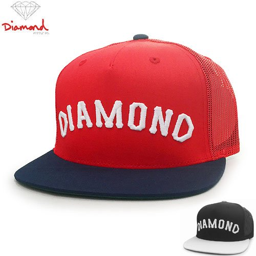 【DIAMOND SUPPLY ダイアモンドサプライ キャップ】ARCH SNAPBACK TRUCKER HAT【2COLOR】NO78