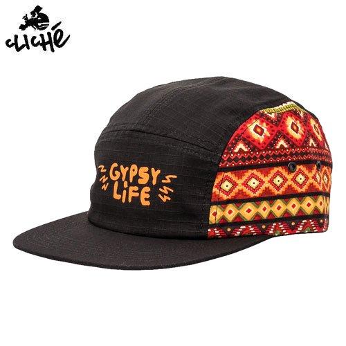 【クリシェ CLICHE スケボー キャップ】GYPSY LIFE 5 PANEL HAT【MULTI】NO8