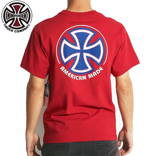 【インディペンデント INDEPENDENT Tシャツ】LTD RWB BC TEE【レッド】NO126