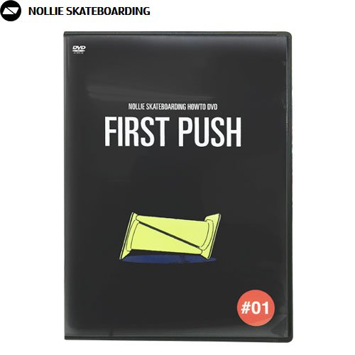 【NOLLIE SKATEBOARDING HOWTO DVD】FIRST-PUSH【ハウツー映像】NO1