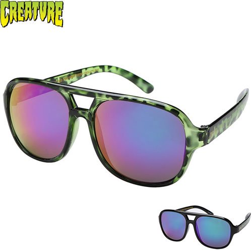 【クリーチャー CREATURE サングラス】CABANAZ CREEPER SUNGLASSES【2COLOR】NO9