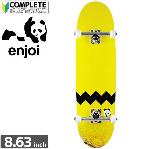【エンジョイ Enjoi スケボー コンプリート】BIG PANTS MINI WHEELS COMPLETE[8.63インチ]【パンダ】NO8