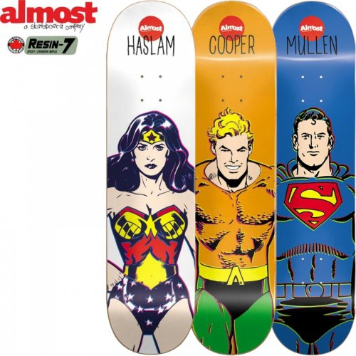 【オルモスト ALMOST デッキ】DC COMICS HERO DECK[8.0インチ][8.38インチ]NO74