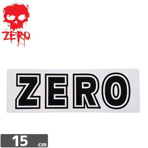 【ゼロ ZERO スケボー ステッカー】ZERO BOLD【5cm×15cm】NO74