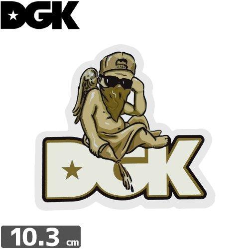 【ディージーケー DGK スケボー ステッカー】CHERUB STICKER【9.6cm × 10.3cm】NO85