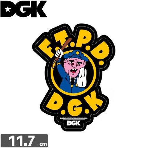 【ディージーケー DGK スケボー ステッカー】CHERUB STICKER【11.7cm × 8.9cm】NO86