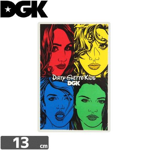 【ディージーケー DGK スケボー ステッカー】GONE BAD STICKER【13cm × 8.6cm】N87