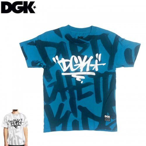 SALE! 【DGK ディージーケー スケボー Tシャツ】CRUSHED TEE【2COLOR】NO293