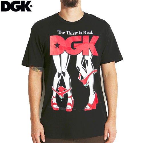 SALE! 【DGK ディージーケー スケボー Tシャツ】THIRST TEE【ブラック】NO298