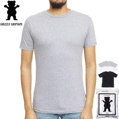 【グリズリー GRIZZLY Tシャツ】TAGLESS TEE【3PACK】【DIAMOND SUPPLY】NO25