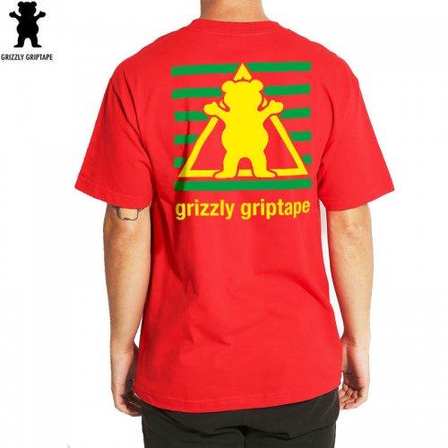 【グリズリー GRIZZLY Tシャツ】SPORTS ACADEMY TEE【レッド】【DIAMOND SUPPLY】NO28