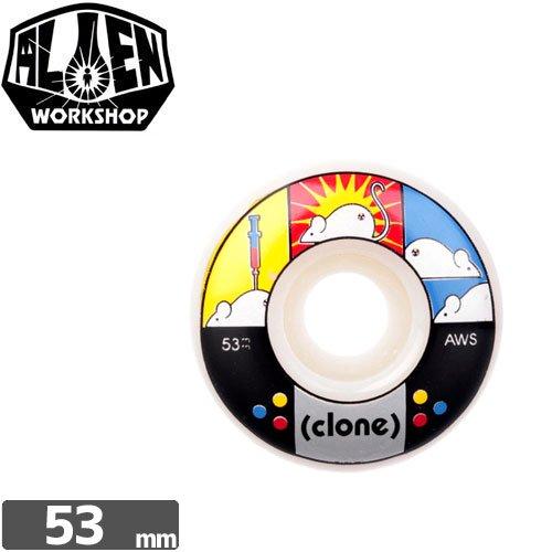 【エイリアン ワークショップ ALIEN WORKSHOP ウィール】123 CLONE WHEELS【53mm】NO19