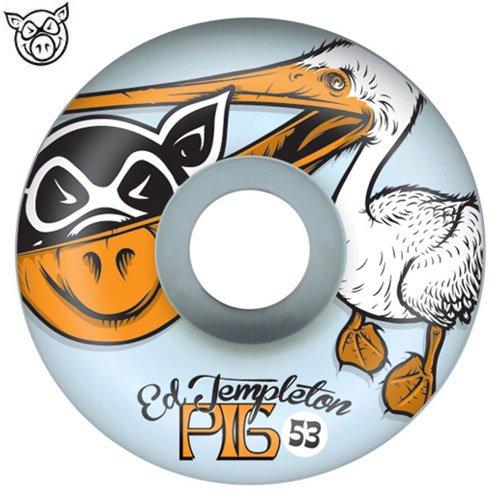 【ピッグ PIG WHEELS ウィール】TEMPLETON PELICAN WHEELS【53mm】NO36