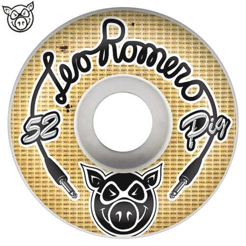 【ピッグ PIG WHEELS ウィール】LEO ROMERO AMPS WHEELS【52mm】NO37