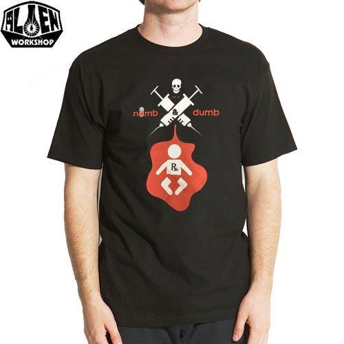 【エイリアン ワークショップ ALIEN WORKSHOP Tシャツ】PRESCRIPTION TEE【ブラック】NO26