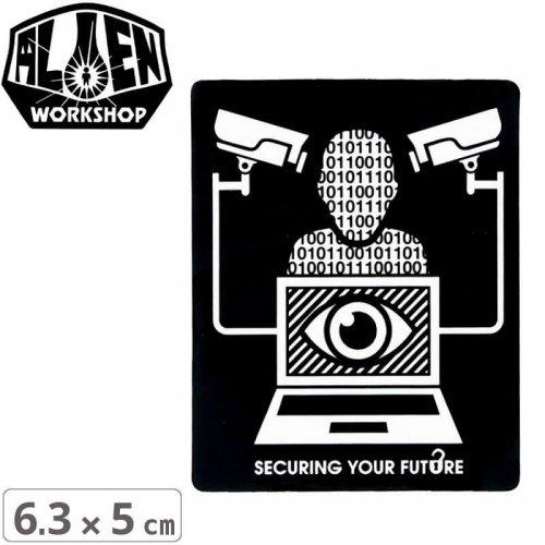 【エイリアンワークショップ ALIENWORKSHOP ステッカー】SPY STICKER【6.3cm x 5cm】NO47