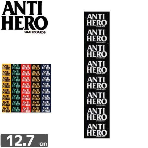 【アンタイヒーロー ANTIHERO スケボー ステッカー】STIRP STICKER【6カラー】【12.7cm x 2.5cm】NO41