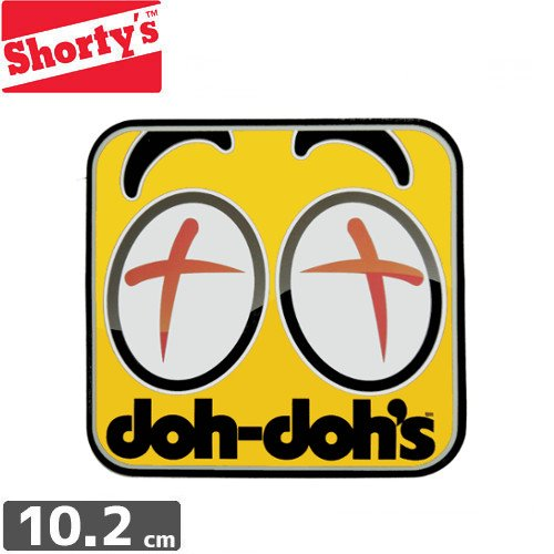 【ショーティーズ SHORTYS ステッカー】DOH DOH EYES STICKER【10cm x 10.2cm】NO12
