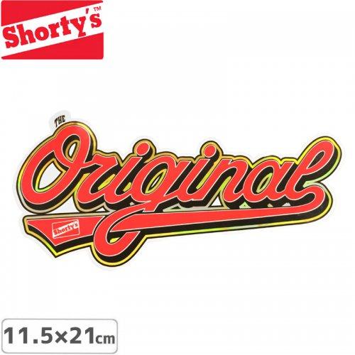【ショーティーズ SHORTYS ステッカー】ORIGINAL DIE CUT STICKER【11.5cm x 21cm】NO14