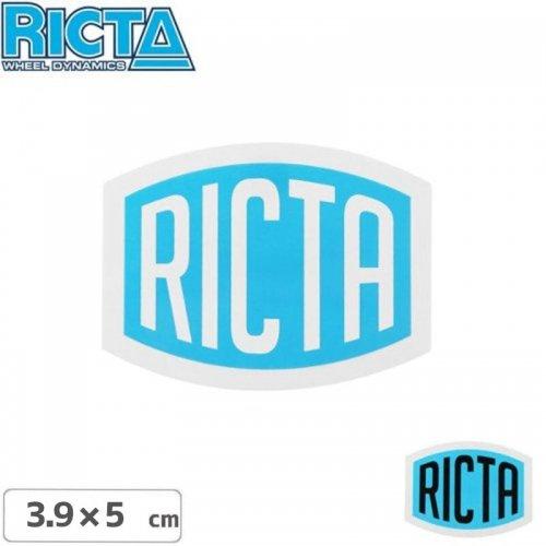 【リクタ RICTA スケボー ステッカー】LOGO STICKER【3.9cm x 5cm】NO3